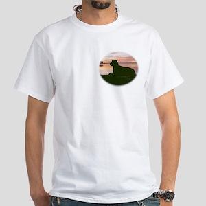 newf sunset White T-Shirt