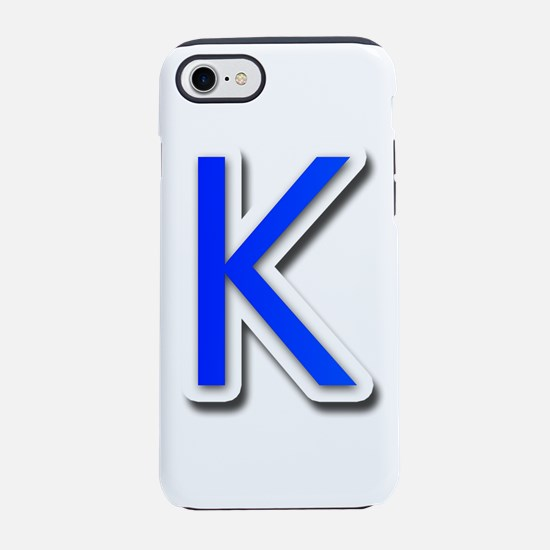Peace Love K iPhone 7 Tough Case