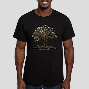 The Art Of Teaching Men's Fitted T-Shirt (dark)