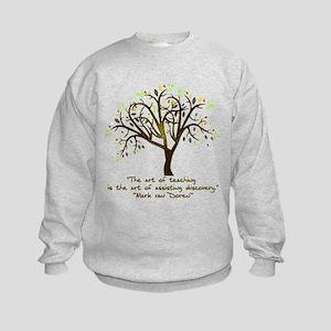 The Art Of Teaching Kids Sweatshirt