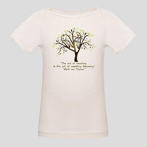 The Art Of Teaching Organic Baby T-Shirt