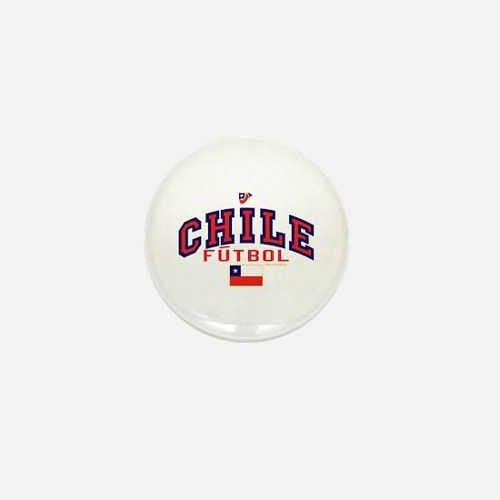 CL Chile Futbol Soccer Mini Button