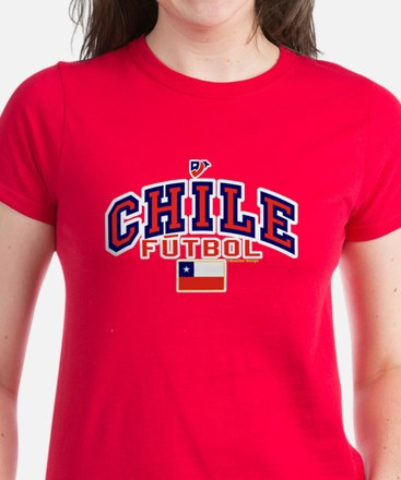 CL Chile Futbol Soccer Women's Dark T-Shirt