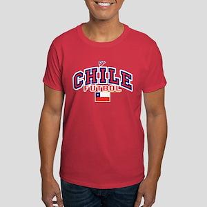 CL Chile Futbol Soccer Dark T-Shirt