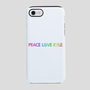 Peace Love Kyle iPhone 7 Tough Case