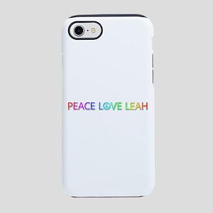 Peace Love Leah iPhone 7 Tough Case