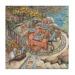 Kim Jacobs Seaside Terrace Tile Coaster