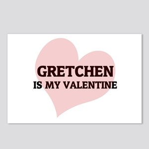 Gretchen Is My Valentine Postcards (Package of 8)