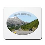 Motorcycle Touring in Canada Mousepad