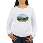 Motorcycle Touring in Canada Women's Long Sleeve T