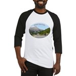 Motorcycle Touring in Canada Baseball Jersey