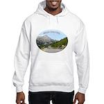 Motorcycle Touring in Canada Hooded Sweatshirt