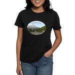 Motorcycle Touring in Canada Women's Dark T-Shirt