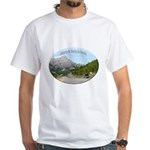 Motorcycle Touring in Canada White T-Shirt