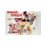 Danger: Diabolik! Rectangle Magnet