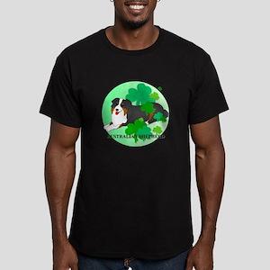 Australian Shepherd Men's Fitted T-Shirt (dark)