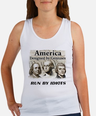 Designed by Geniuses Women's Tank Top