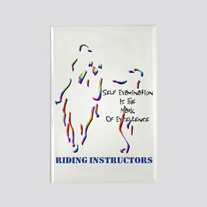 Riding Instructors Rectangle Magnet