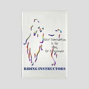 Riding Instructors Rectangle Magnet