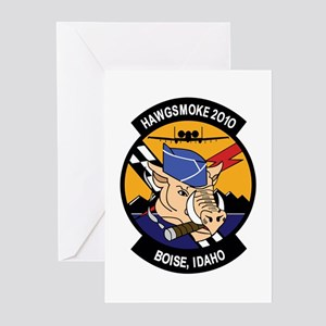 A 10 thunderbolt greeting cards cafepress hawgsmoke 2000 greeting cards pk of 20 m4hsunfo