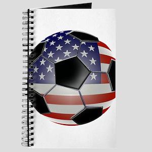 BIG American Soccer Balls Journal
