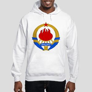 SFR Yugoslavia Coat Of Arms Hooded Sweatshirt