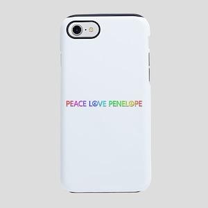 Peace Love Penelope iPhone 7 Tough Case