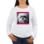 Shih Tzu Heaven Women's Long Sleeve T-Shirt