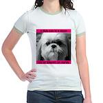 Shih Tzu Heaven Jr. Ringer T-Shirt