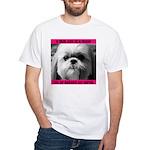 Shih Tzu Heaven White T-Shirt