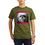 Shih Tzu Heaven Organic Men's T-Shirt (dark)
