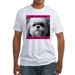 Shih Tzu Heaven Fitted T-Shirt