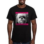 Shih Tzu Heaven Men's Fitted T-Shirt (dark)
