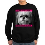 Shih Tzu Heaven Sweatshirt (dark)