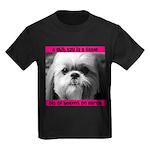 Shih Tzu Heaven Kids Dark T-Shirt