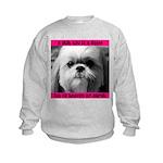 Shih Tzu Heaven Kids Sweatshirt