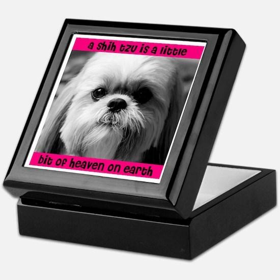 Shih Tzu Heaven Keepsake Box