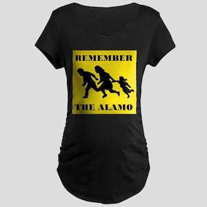 THE FLOOD CONTINUES Maternity Dark T-Shirt