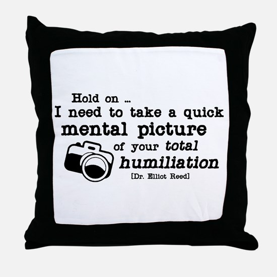 Total Humiliation Throw Pillow