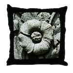 Stone Poppies Throw Pillow