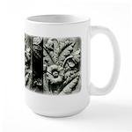 Stone Poppies Large Mug