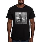 Stone Cherub Men's Fitted T-Shirt (dark)