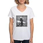 Stone Cherub Women's V-Neck T-Shirt