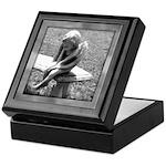 Stone Cherub Keepsake Box