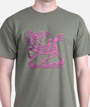 Year of the Horse Black T-Shirt