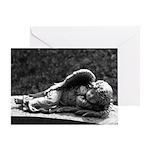 Sleeping Cherub Greeting Card