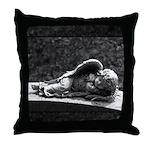 Sleeping Cherub Throw Pillow