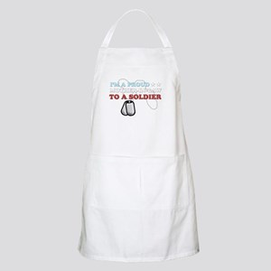 Proud MIL to a Soldier Apron