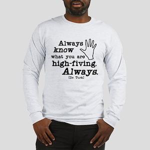 Scrubs High Five Long Sleeve T-Shirt