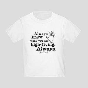 Scrubs High Five Toddler T-Shirt